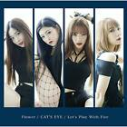 Flower/CAT'S EYE/Let's Play With Fire ROZE CD