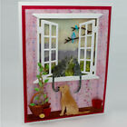 Lovely Cat on the window Metal Cutting Dies For Scrapbooking Craft Decor LK