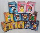 **LEGO BRICK HEADZ BNIB NEW SERIES 1 CHOOSE YOUR CHARACTER POTC SUPERHERO B