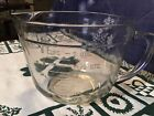 Vtg Anchor Hocking Clear Glass 2qt 8 Cup Measuring Batter Mixing Pouring Bowl