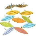 Fall Leaves Pastel Shaped Brads 12pc Eyelet Outlet