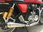 Royal Enfield Continental GT 500 MassMoto Exhaust Silencer Tromb Inox Retro New