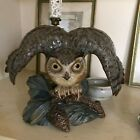 Lovely Large Lladro Gres Figurine Eagle Owl