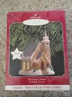 Hallmark 1998 Ornament The Stone Church Candlelight Services 1st in series