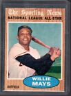 1962 TOPPS #395 WILLIE MAYS ALL STAR HOF S.F. Giants sharp clean EX MT to NM