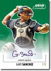 GARY SANCHEZ 2011 Just LIMITED Rookie Autograph GREEN Auto RC # 5