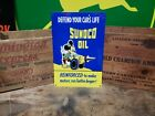 Sunoco motor oil sign Disney Automobile  Engine drive  Vehicle  Mickey Mouse