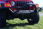 Outland 391150211 Black Front Bumper w Grille Guard for 87 06 Wrangler YJ TJ