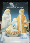 Enesco Kinka 3 Piece Nativity Set