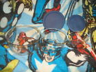 Anchor Hocking Clear Glass Nesting Mixing Bowls Set of 3 - Nice!