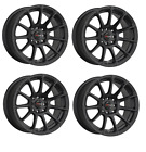 DRAG DR 66 Wheels 15X75 4x100 Black Concave Rims for Toyota Corolla Yaris Echo