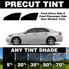 Precut Window Tint for Geo Prizm 93 97 Front Doors Any Shade