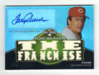 2012 Topps Baseball Triple Threads Tom Seaver Autograph Relic Gold 4 9 Reds