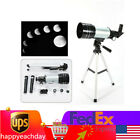 Astronomical Telescope 300x70mm Kit Tube Refractor Monocular+Adjustable Tripod