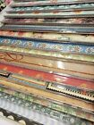 100 Sheets 12x12 Printed Cardstock  Scrapbook Papers Mixed Lots  Name Brands