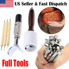 Leather Craft Metal Engrave Stamping Embossing Molds DIY Carving Printing Tools