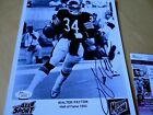 Walter Payton Football Cards, Rookie Card and Autograph Memorabilia Guide 77
