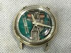 Vintage 1964 / M4 Bulova Accutron Spaceview 214 Watch 10k Gold Fill Keeps Time