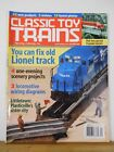 Classic Toy Trains 2004 September Fix old Lionel track scenery projects Loco