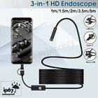 8led Wifi Endoscope Borescope Inspection Hd 1200p Camera Ip68 For Ios Android Pc