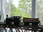HO scale Log Buggie w Logs  Chain nice paperwork