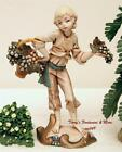 FONTANINI DEPOSE ITALY 75 BOY w GRAPE BASKET NATIVITY VILLAGE FIGURE SPIDER