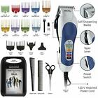 Men Professional Hair Cut Clippers Wahl Cutting Barber Salon Kit Trimmer Machine