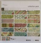 Basic Grey Fruitcake Christmas Scrapbook Collection Pack 12x12 Retired