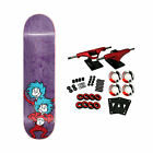 Almost Skateboard Complete Dr Seuss Cat in the Hat Thing Stacked Purple 825