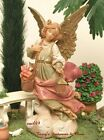 FONTANINI DEPOSE ITALY 5 RETIRED ANGEL MARIEL NATIVITY VILLAGE FIGURE 75523 MIB