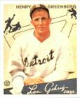 Hank Greenberg Cards, Rookie Cards and Autographed Memorabilia Guide 15