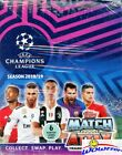 2018 19 Topps Match Attax Champions League Soccer 30 Pack Sealed Box-180 Cards!