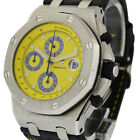 AUDEMARS PIGUET  -  ROYAL OAK OFFSHORE CHRONOGRAPH WITH YELLOW DIAL