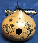 C J Prophet Painted Gourd Bird House Folk Art Native American Indian Hopi Pueblo