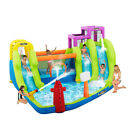 RipTide Triple Fun Inflatable PVC Water Park with 3 Slides  Obstacle Course