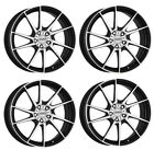 4 Dotz Kendo wheels 70Jx17 4x100 for SUBARU Justy Justy G3X
