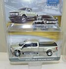 Greenlight black Ford F 350 King Ranch truck Tow Exclusive dual