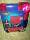 WONDER WOMAN SILKY SOFT FLEECE THROW 40 X 50 NEW IN PACKAGE GREAT GIFT IDEA