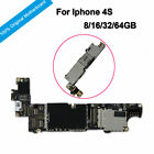 100 Original Main Motherboard Unlocked Full Chips IOS Logic Board For Phone 4S