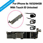 Original Main Motherboard Unlocked With Chips Touch ID Logic Board For iPhone 5S