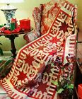 My Signature Color Red Quilt Pattern Pieced LL