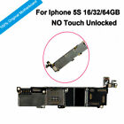 Original Motherboard Unlocked No Touch ID Logic Board With Chips For iPhone 5S