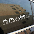 Hot Sale Peeping Family For Auto Car Window PET Decal Sticker Decals Decor