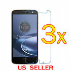 3x Clear LCD Screen Protector Guard Cover Film For Motorola Moto Z Force Droid