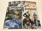 THE DELINQUENTS #1-4 (VALIANT PREVIEW VAN LENTE 0616188) COMPLETE SET LOT OF 6