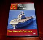 AIRCRAFT CARRIERS WWII US Navy Nuclear Carrier War Naval History Channel DVD LN