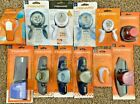Lot of 12 Mixed Fiskars Paper Punches Border Corner Squeeze Intricate NIP 12P