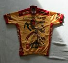 The Retro Image Mens Cycling Jersey Pirelli Gran Premio Catalua Size 42 XL