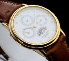 BLANCPAIN Perpetual Calendar Moonphase 18k Yellow Gold Wristwatch