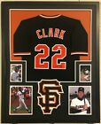 Will Clark Autographed Custom Framed San Francisco Giants Jersey 2 JSA COA